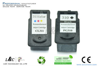 Compatible Remanufactured PG310 CL311 Black Ink Cartridge for Canon