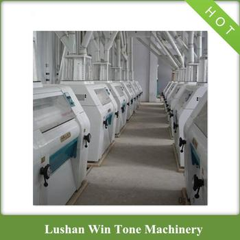High Yield Large Scale Maize Flour Milling Plant