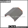 250X250mm clay roof ridge tile/ glazed roof tiles white colour/ customized roofing tileT5