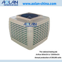 Industrial floor standing air conditioner ducted evaporative cooler(iso9001:2000 approved)