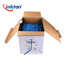 Inkton Manufacture bare copper/CCA 8 pair cat6 utp cable network cable