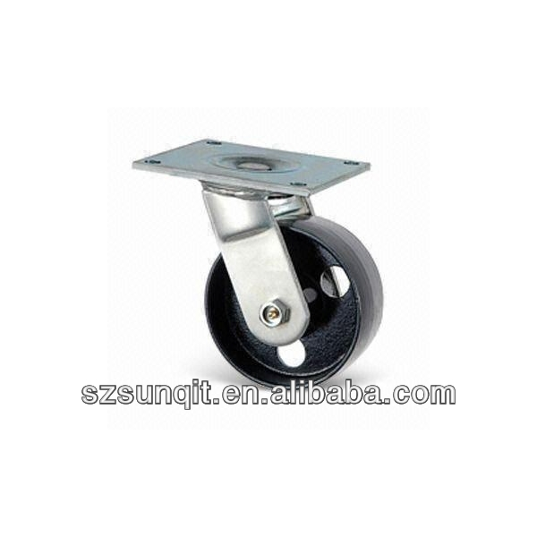 heavy duty with brake or not industrial fixed and swivel caster wheel