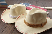 Cheap Bulk Novelty Summer Paper Straw Cowboy Hats