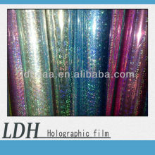 High transparent BOPP holographic lamination film for packing