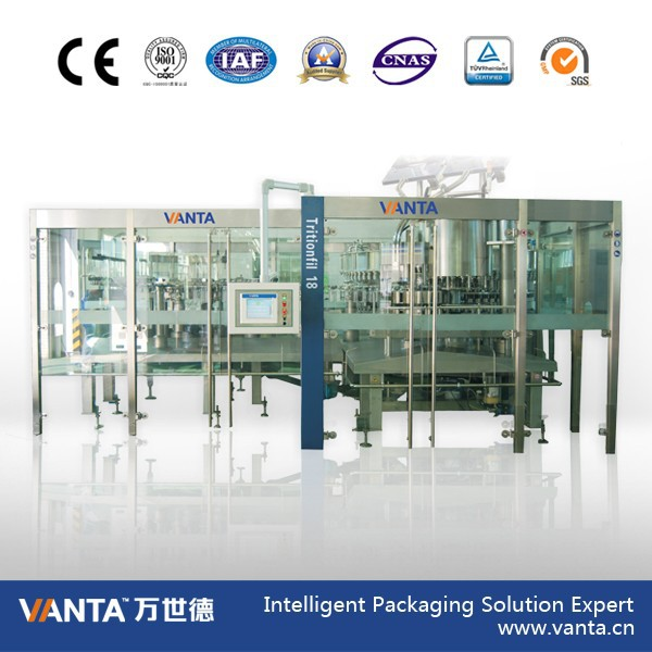 Intelligent Filler for Bottle High Speed Juice Filler 36000bph