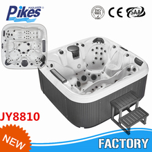 New arrival JOYSPA(factory) Rectangular Cold Outdoor massage hot tub whirlpool spa hot tub with air jet massage