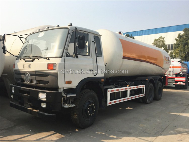 ASME standard 25300L lpg delivery transport truck in Benin