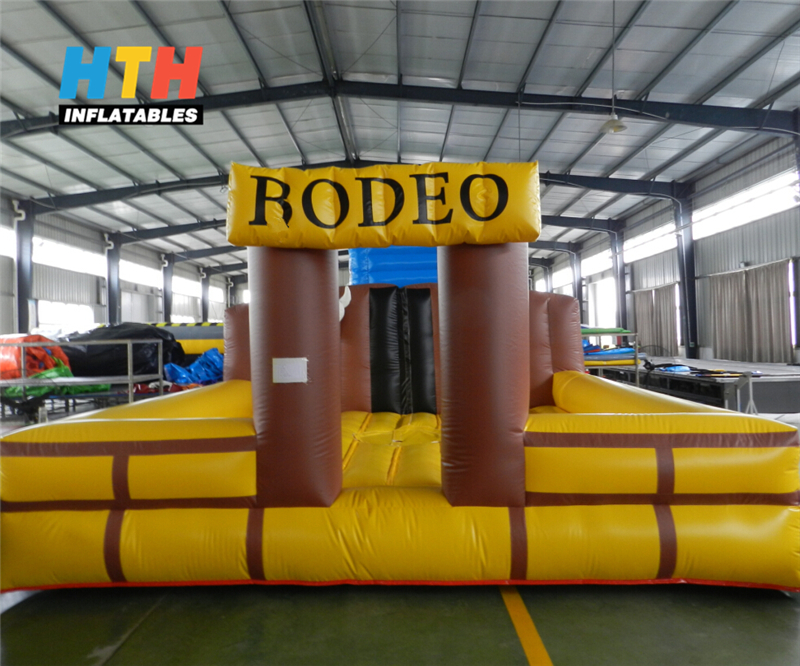 kids inflatable rodeo bull riding bouncer