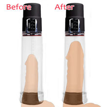 Automatic adult toy penis pump penis enlargement extender