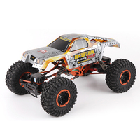 Upgraded Version 1/10 4wd rc buggy with dual front and rear steering