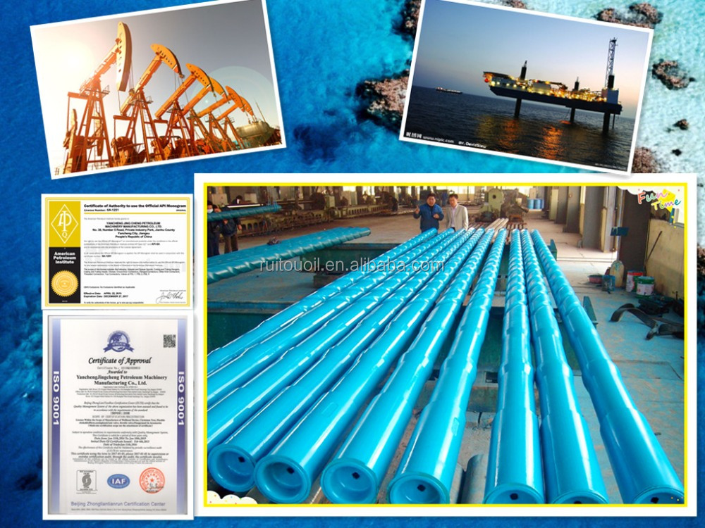 Downhole API Drill Collar/Integral Spiral Drill Collar/Oil and Gas Non-Magnetic Drill Rod Collar Oil drilling equipment