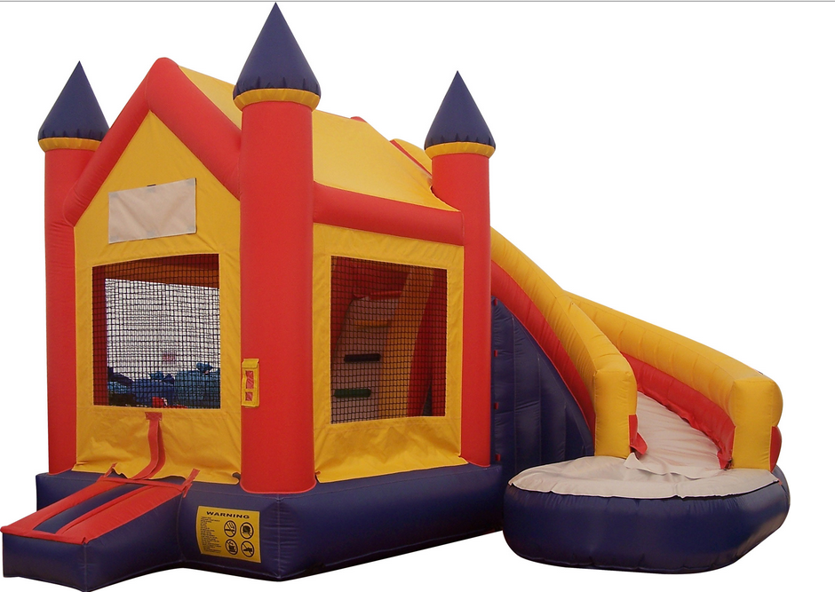 High Quality 0.55mmPVC used commercial big bounce houses for sale