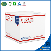white corrugated postal box custom printed paper mailer boxes
