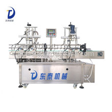 Small Bottle Edible Oil Filling Capping Machine