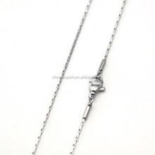 Hot Sliver 316L Stainless Steel roll jewelry chain chain