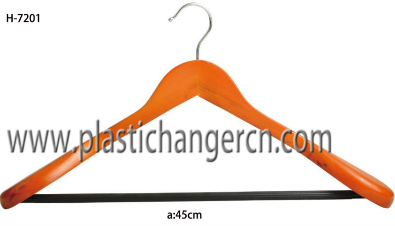 wood clothes hanger, natural wood clothes hanger, wood hanger for clothes