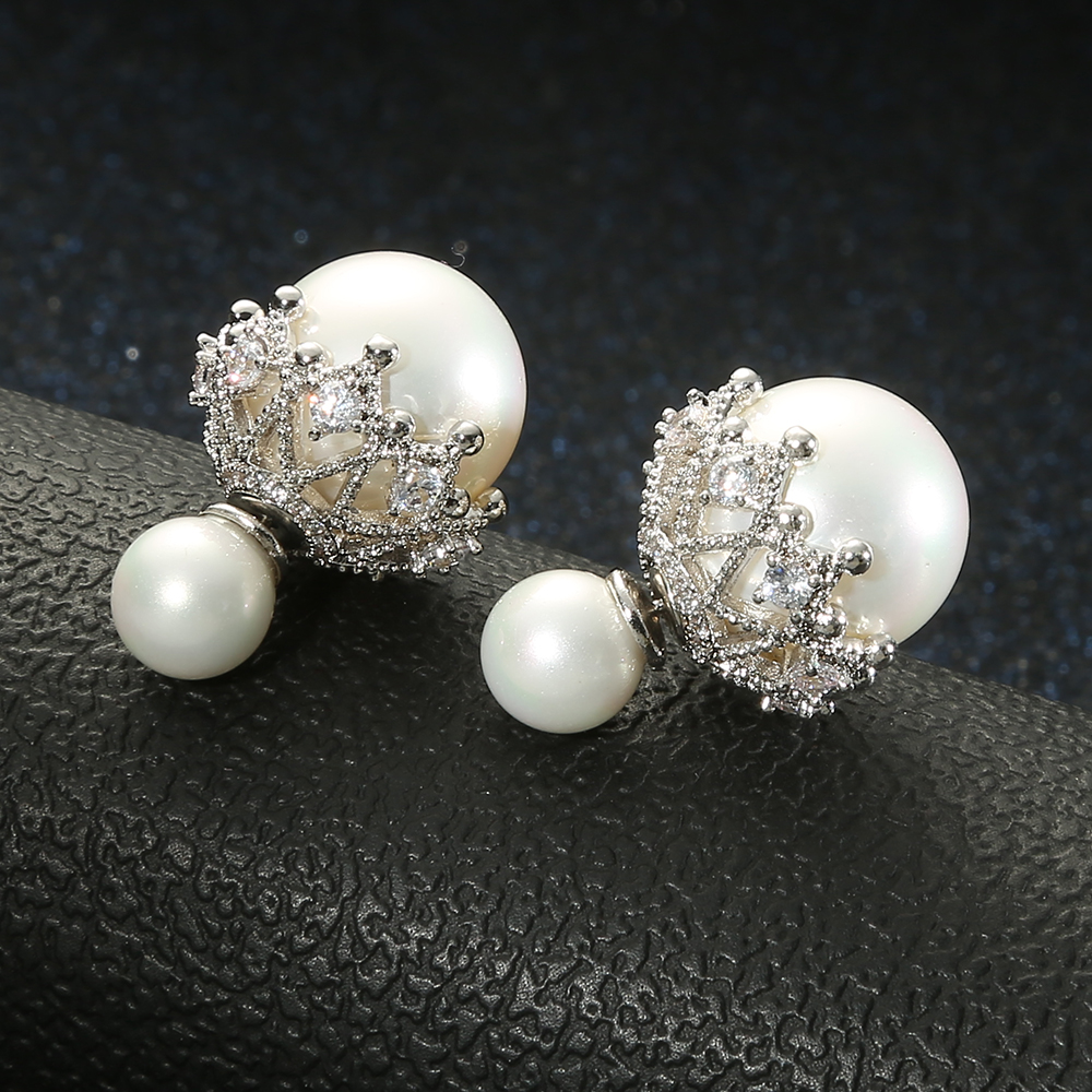 Exquisite and beautiful Large pearl <strong>earring</strong> korean fashion women <strong>earrings</strong>