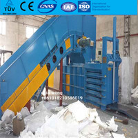 Automatic Hydraulic Scrap Paper Baling Press