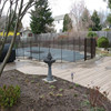 ZNZ Factory Directly sales Portable Security Aluminum Removable Safety Mesh Pool Fence