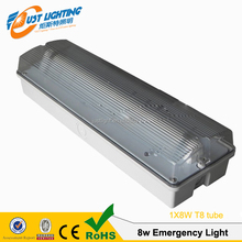 IP65 LED Emergency Light T5 8w exit sign emergency lighting