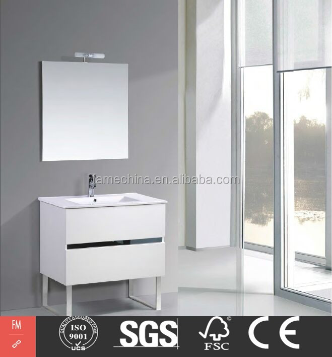 chinese manufactory first-class stainless steel lowes bathroom cabinet