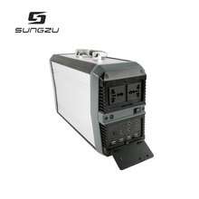 Portable Power Station 700Wh Home Battery Backup Generator with 12V 19V, AC, USB and Anderson Power Pole Outputs
