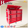 Heavy Duty Chinese supplier drawers steel tool chest with casters