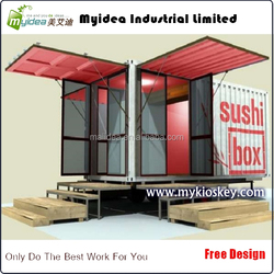 20ft shipping container office home and kiosk
