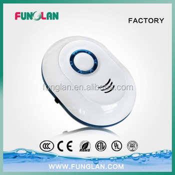 OEM quality cheap factory price allergy remover air purifier auto timer ozone mini air purifier with night light CE ROHS