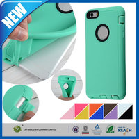 C&T Slim Fit Shock Absorbent Gel Soft Silicone Case For iPhone6s