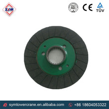 hoist or trolley brake lining disc for tower crane