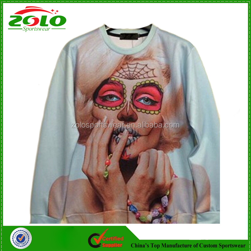 Unique design custom fully sublimated european style awesome hoodies