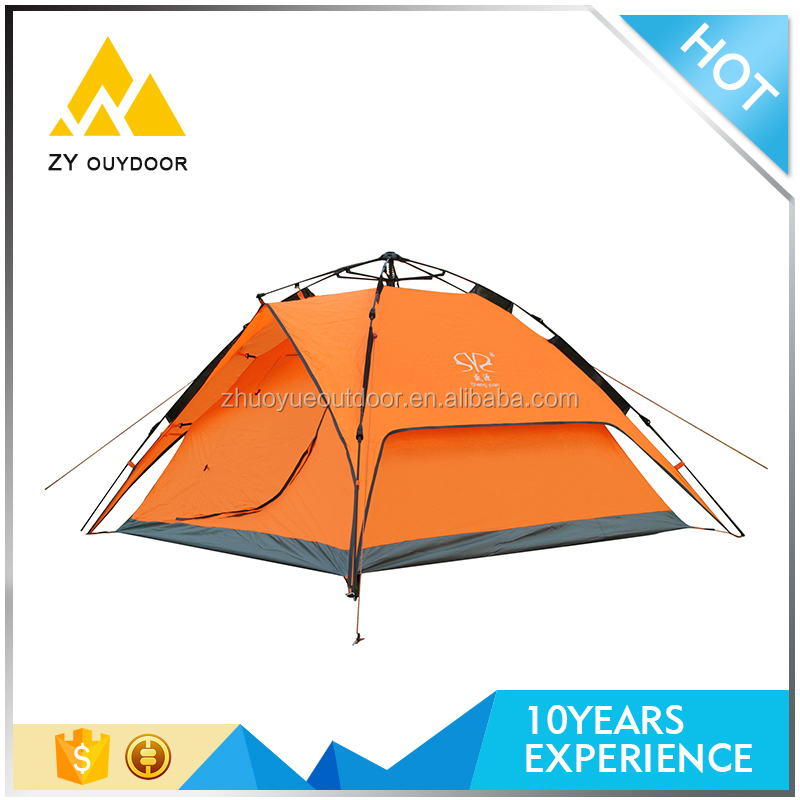 Manufacture outdoor double layer extra 4 season large camping tent beach