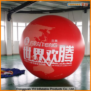 3m full printing inflatable air sphere balloon
