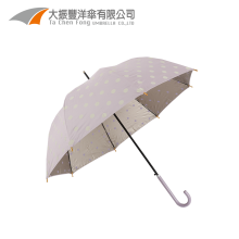 fancy promotion outdoor lady straight umbrella with factory china