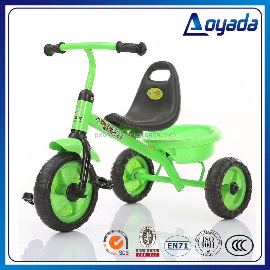 New style child trike / child trike kids tricycle / Wider seat child tricycle with back basket