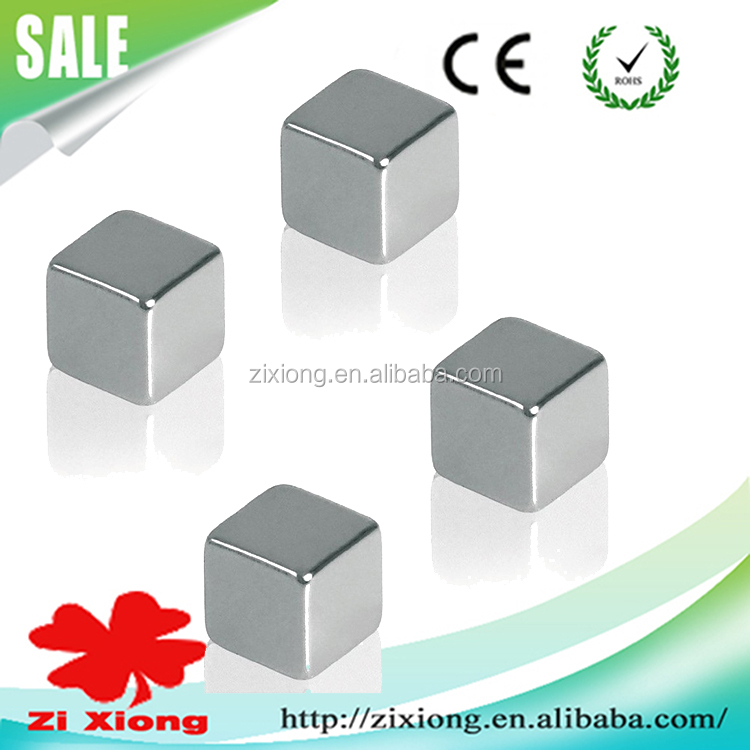 12mm Industrial Permanent NdFeB Rare Earth Block Magnet Cube Magnets