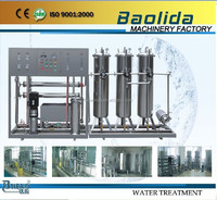 RO-6000L/h 97% high desalination industrial reverse osmosis system price China supplier