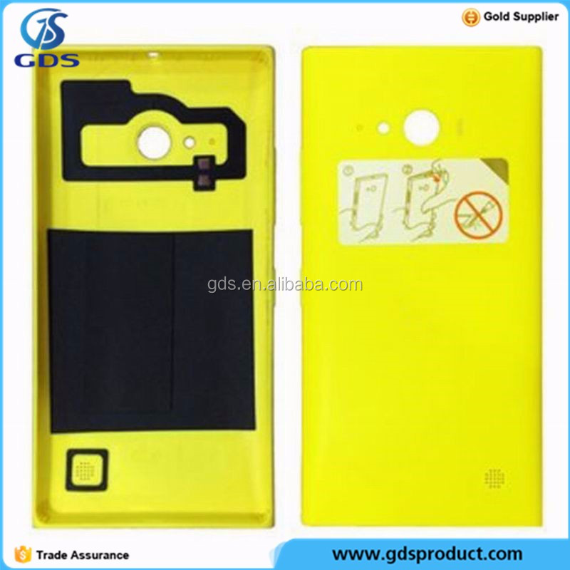 Yellow Back Housing Battery Door Rear Cover Case For Nokia Lumia 730 735