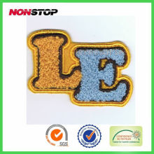 custom embroidery emblems for clothing&garment accessory