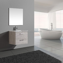 New developed European popular color promotional bathroom furniture set