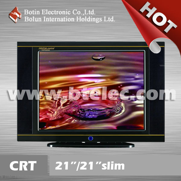 "21 inch Ultra Slim CRT TV (New Model)21""/21""PF/21""SLIM/21""ULTRA SLIM CRT Color TV"