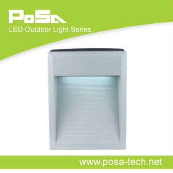 outdoor wall mounted led light recessed type
