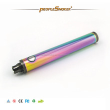 Original evod twist rainbow e-cigarette evod twist 1600mah twist battery