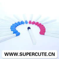 Chinese newly deisgn rubber tip stylus pen in match shape