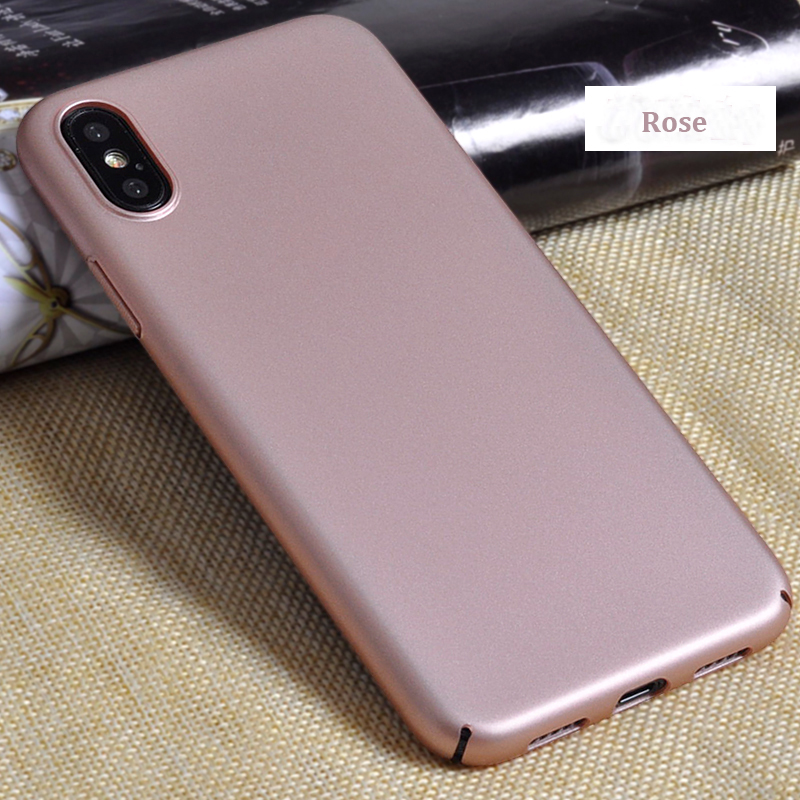 DFIFAN PC plastic case for iphone x,wear resistance high quality Rubber oil painted case cover for iphone X