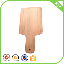 Wood Long handle kitchen chopping board Organic Pizza Cutting Board