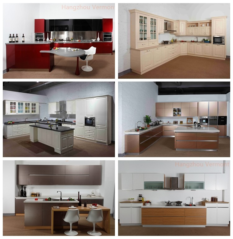 2017 Australian Standard New Model Cheap Price Kitchen Cabinet Designs Foshan