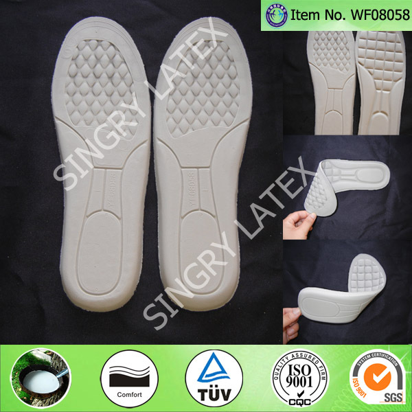 Latex Wool Heated Shoes Insole