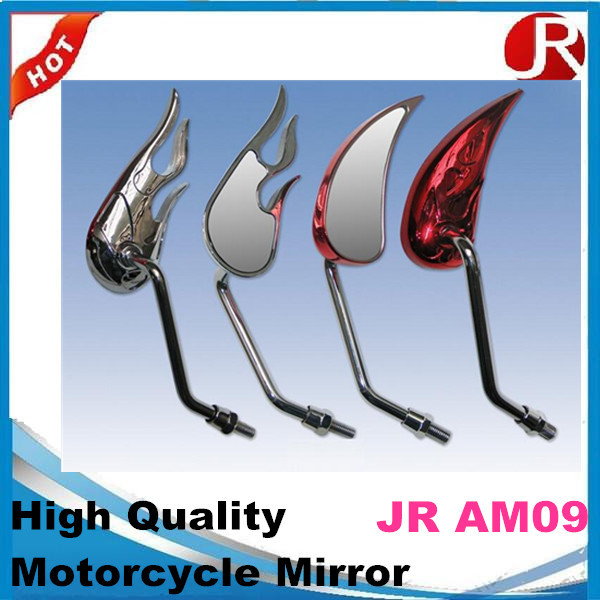 Motorcycle Micro Handle Bar-End Mirrors